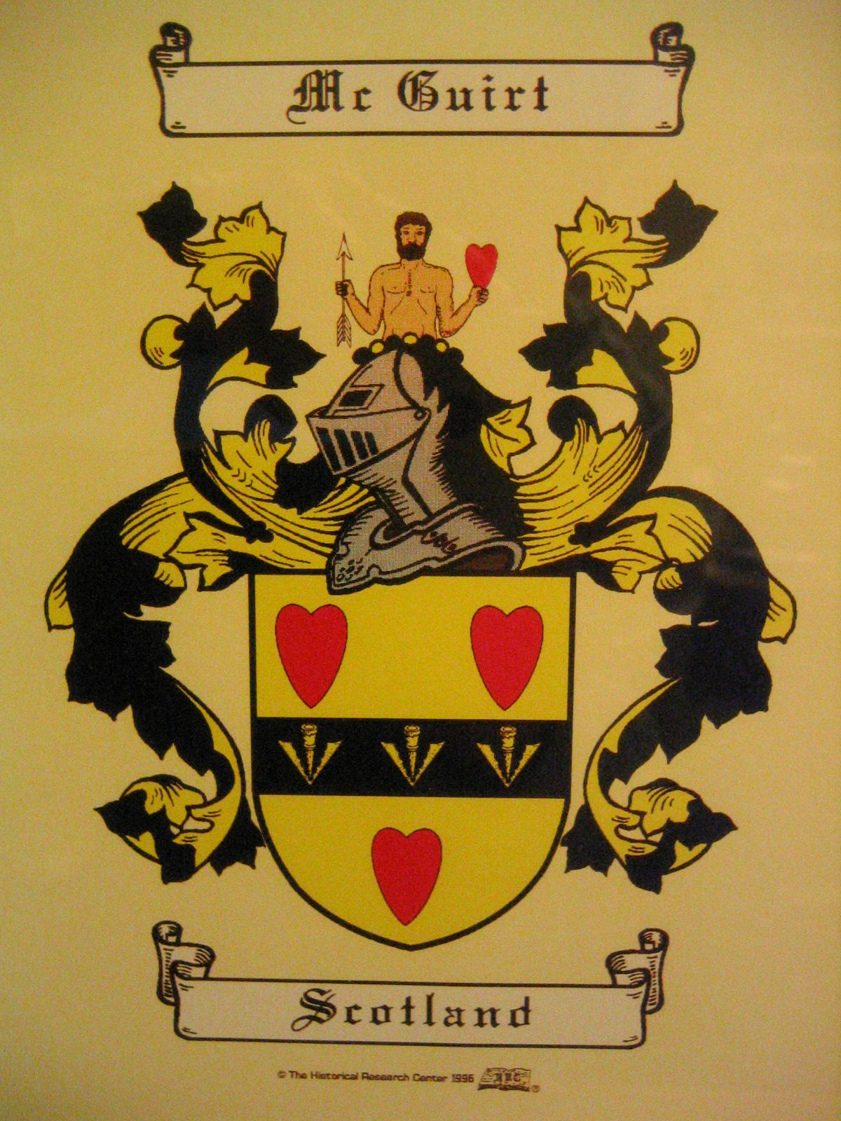McGuirt Coat of Arms